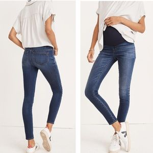 Madewell Maternity Over-the-Belly Skinny Jeans 30